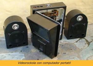 Videorockola portatil
