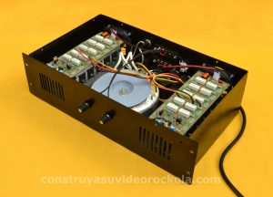 amplificador híbrido 1000W