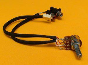 cable volumen señal