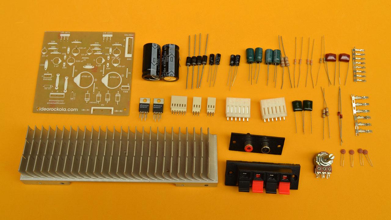 Circuito De Amplificador De Audio De 1000w Pdf : Amplificador estéreo de w con el circuito integrado tda