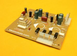 PCB con conectores