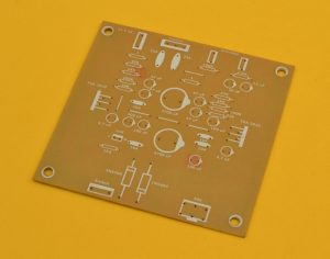 PCB del amplificador tda2030