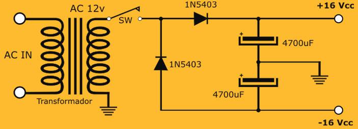 diagrama del doblador