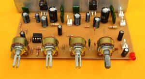 control de volumen y tonos