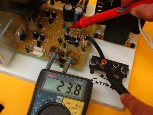 medición voltaje