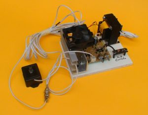 amplificador con control
