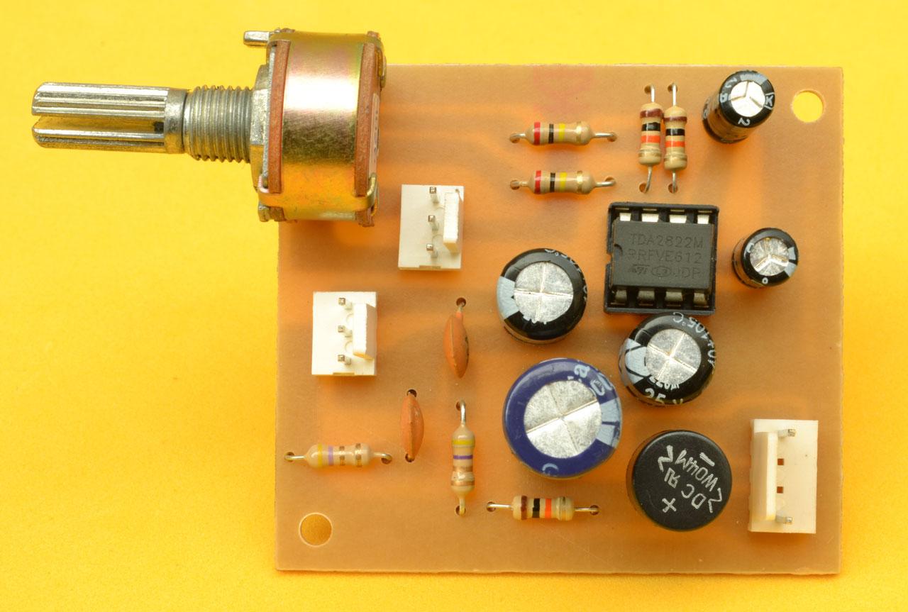 Circuito Impreso De Amplificador De 3000w : Construya un amplificador de audífonos con tda