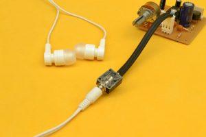 conectando audifonos