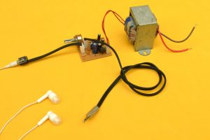 amplificador de audífonos terminado