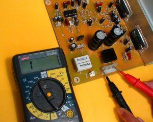medir entrada voltaje AC